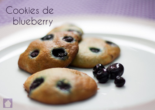 Receita: Cookies de Blueberry