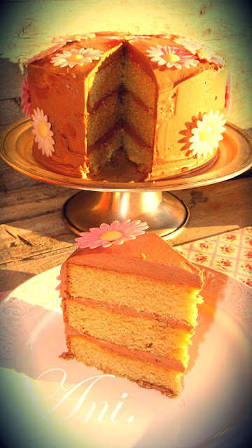 Layer cake de nutella.