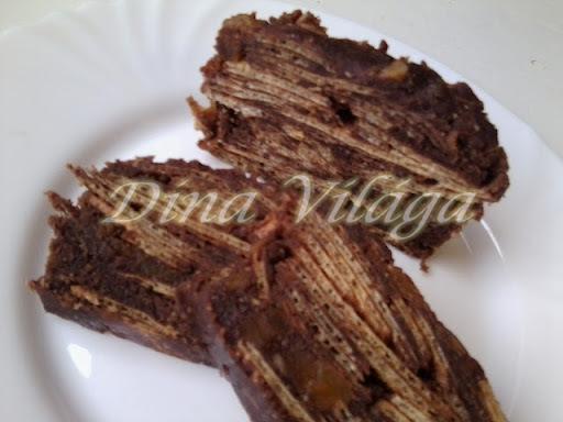 Ostyás-csokis főzemény-kevermény (mert nem sütjük)