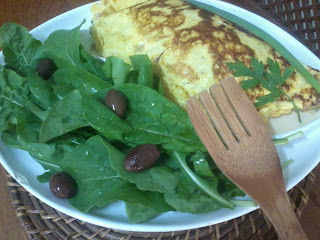 omelete de atum enlatado