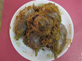 Granny's Puddi Sagle (brinjal masala dry)