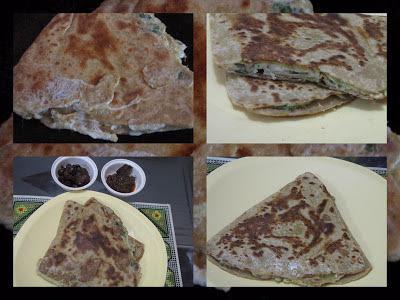 Egg Paratha/Ande Ka Paratha