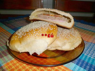 pão de metro recheado