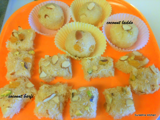 milk burfi using condensed milk
