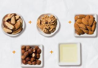 Receita de manteiga de oleaginosas e manteiga melhorada
