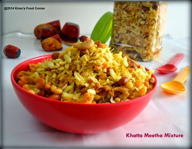 Khatta Meetha Mixture / Khatta Meetha Chivada