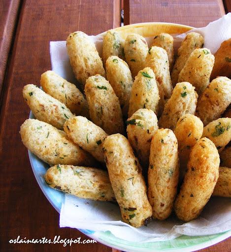 Bolinhos de Mandioca com Bacalhau