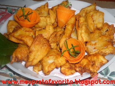 file de merluza frito crocante