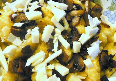Brzi njoki (žličnjaci) sa sirom i gljivama