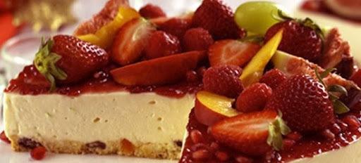 Panetone de frutas frescas