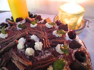 Torta Selva Negra (Schwarzwaelder Kirschtorte)