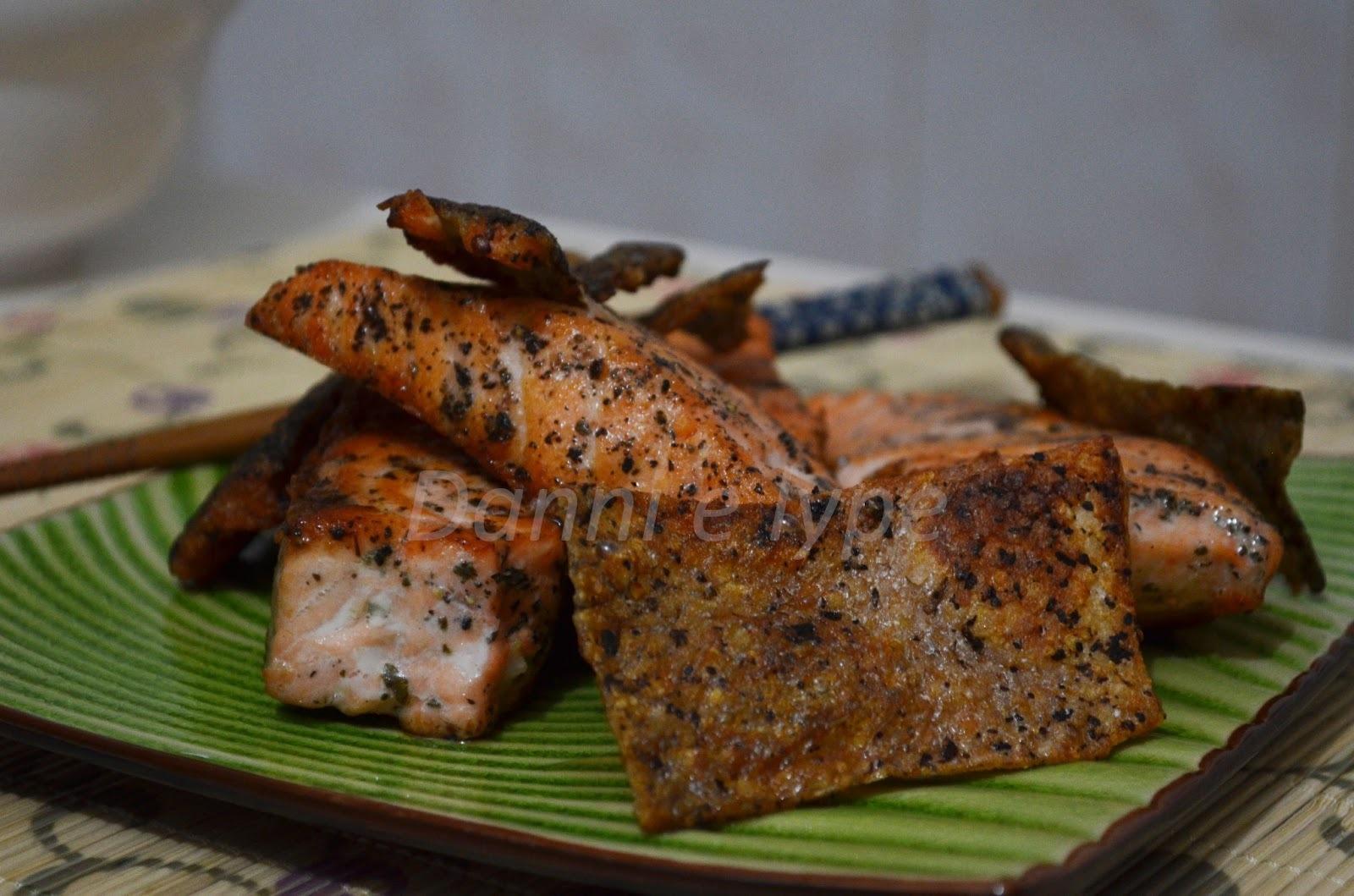 espinha de salmão