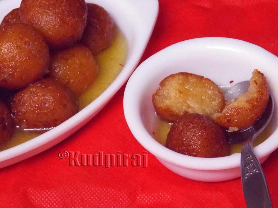 Gulab Jamun(Authentic Punjabi Style)