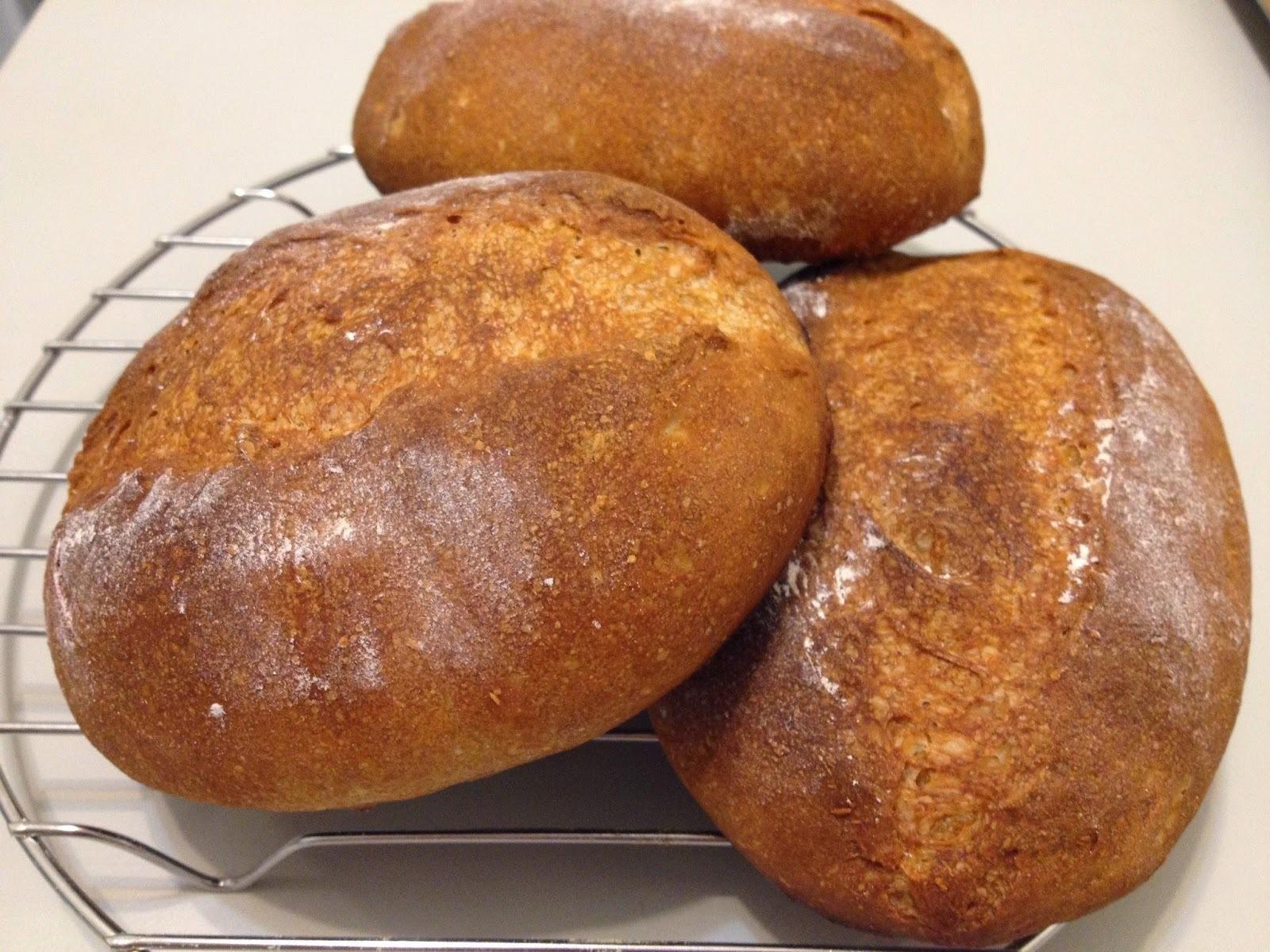 法式裸麥麵包(低溫發酵法)