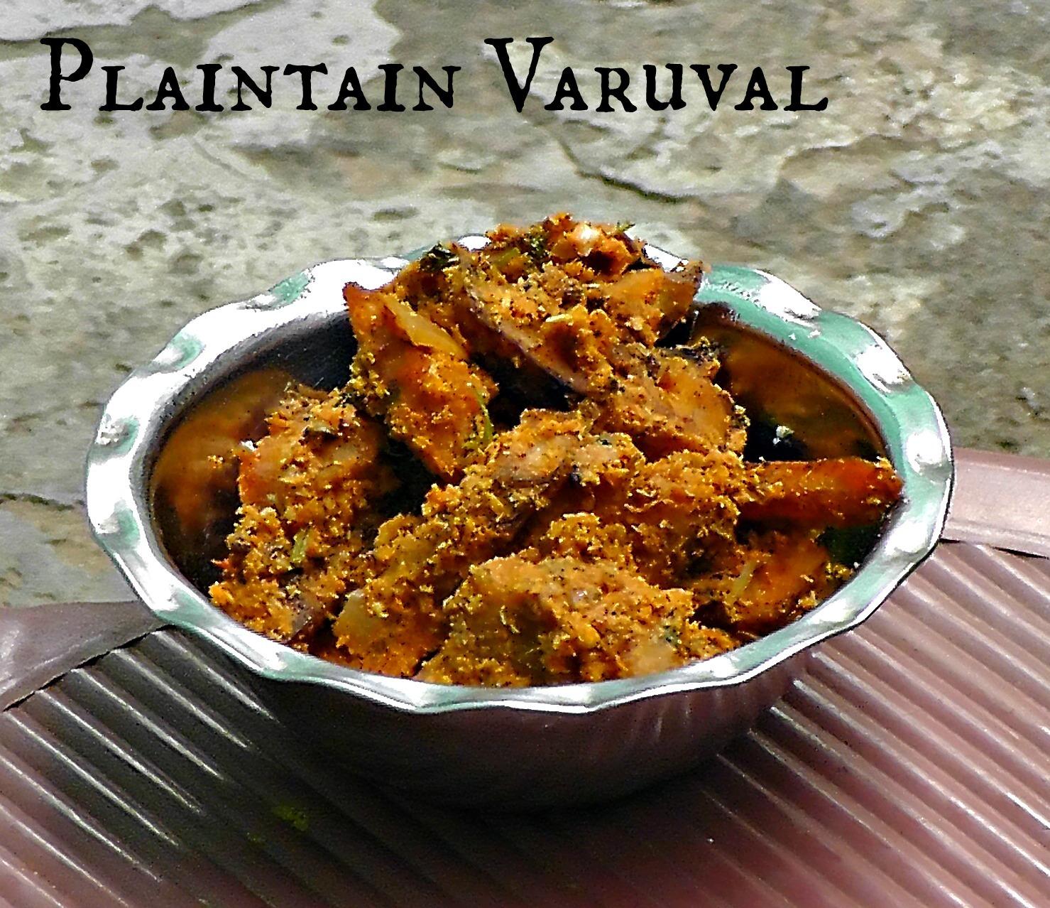 Plantain Fry | Vazhakkai Varuval