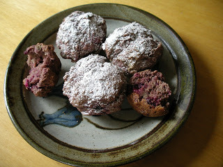 Blackboy Peach Muffins