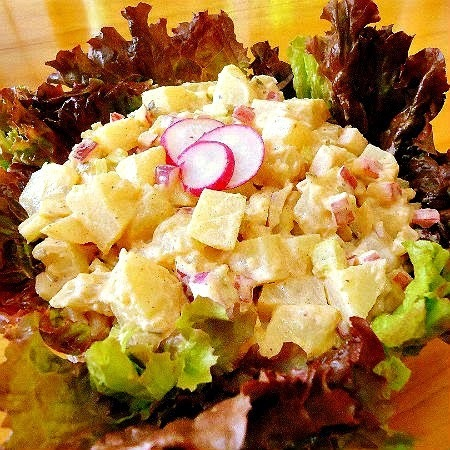 New-Fashioned Potato Salad with Radishes and Sweet Pickle Relish