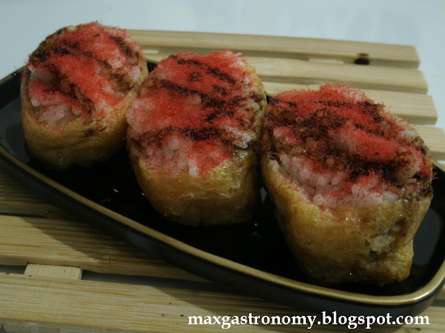 Receita No. 43 - Inarizushi (Bem Frito de Sushi) 稲荷寿司