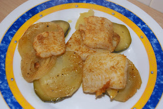 Adobo de pescado al horno
