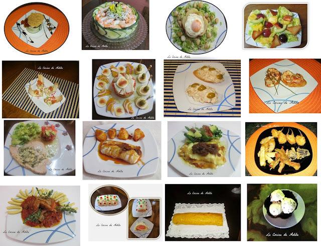 16 platos, para que elijas, el que mas te guste