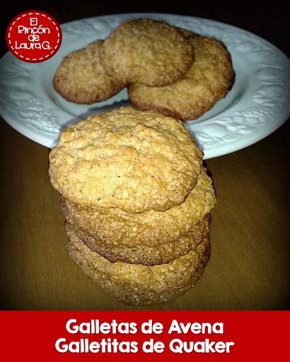 Galletas con Avena • Galletitas con Quaker
