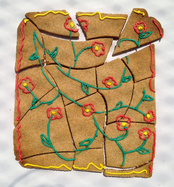 Bolo Biscoito de Quebra- Cabeça