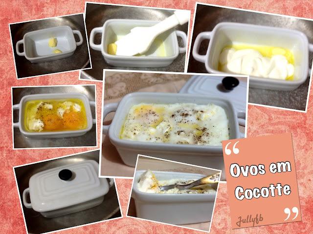 Ovos em Cocotte: café da manhã sem carboidratos!!!