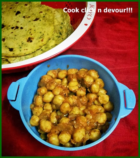 chole bhature using everest masala