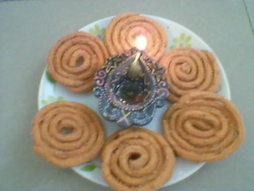 chakli made from rice flour