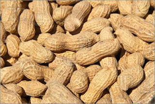 Boiled Peanuts (Jiggnut) and Potato Snack
