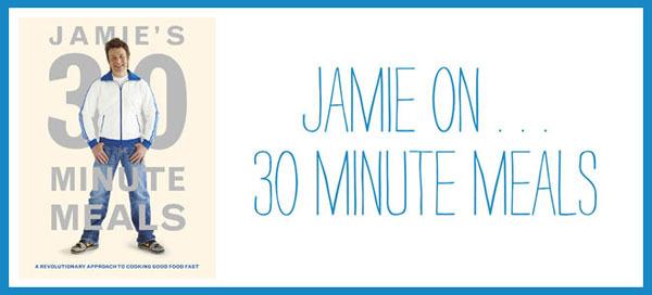 Jamie Oliver 30 Minutes Meals & Salmão Crocante