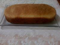 simples de pão caseiro com farinha integral