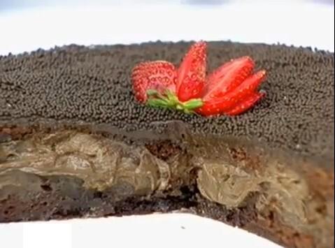 de bolos de chocolate recheados