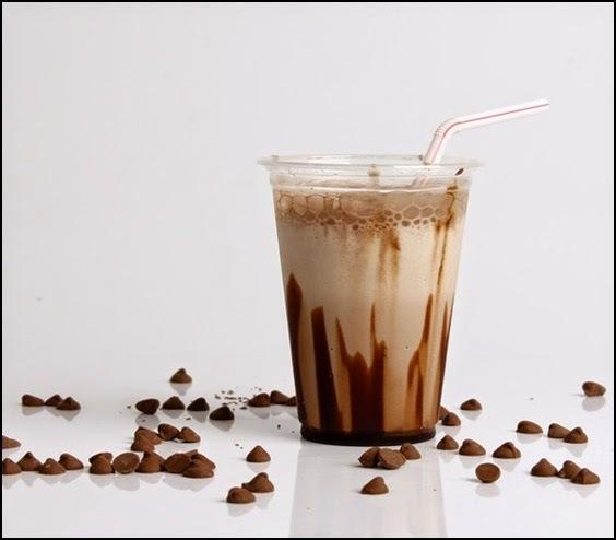 Milk Shake feito com Nescau