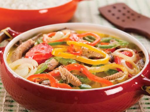 coqueiro arroz de forno sardinha