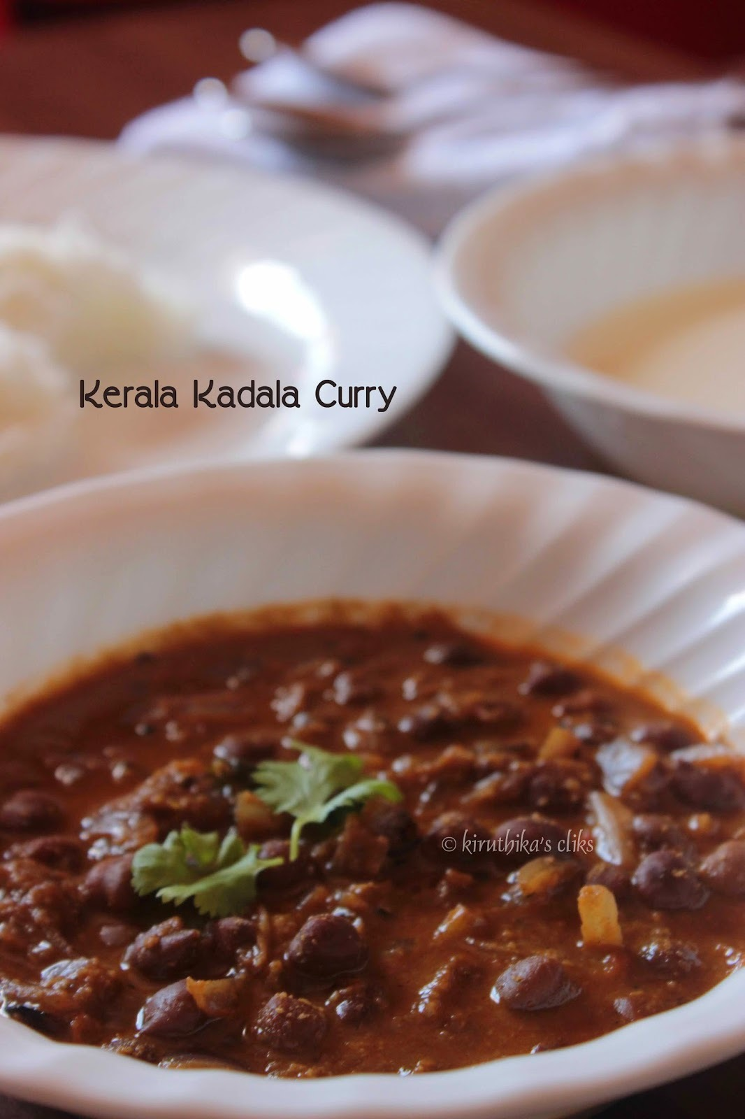 Kadala Curry Recipe / Kerala Kadala curry for Puttu, Appam and Idiyappam