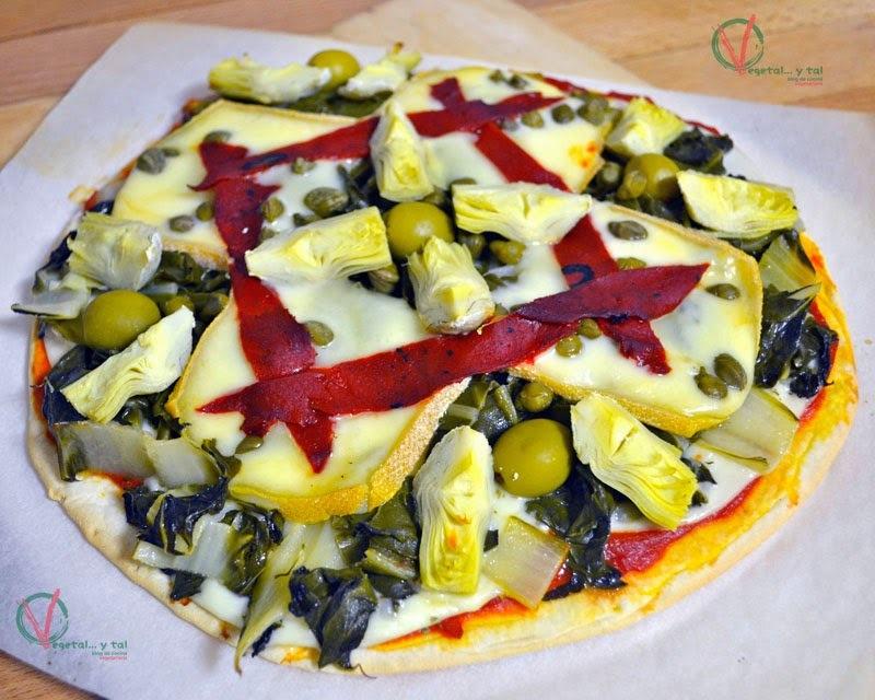pizza de bocadillo y queso