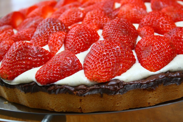 bagerens jordbærtærte