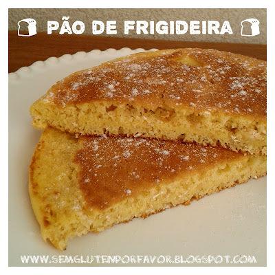 Receita de hoje: pão salgado de frigideira + pão doce de frigideira + mini pizza