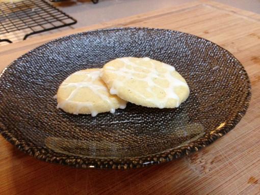 Biscoitinho de Limão com Glacê