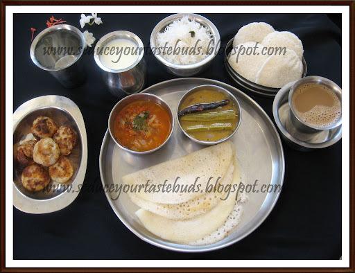 Kongunadu Breakfast Thali
