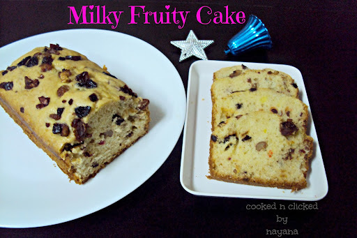 Milky Fruity Cake