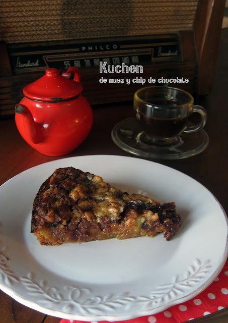 Para Comenzar | Kuchen de nuez y chips de chocolate