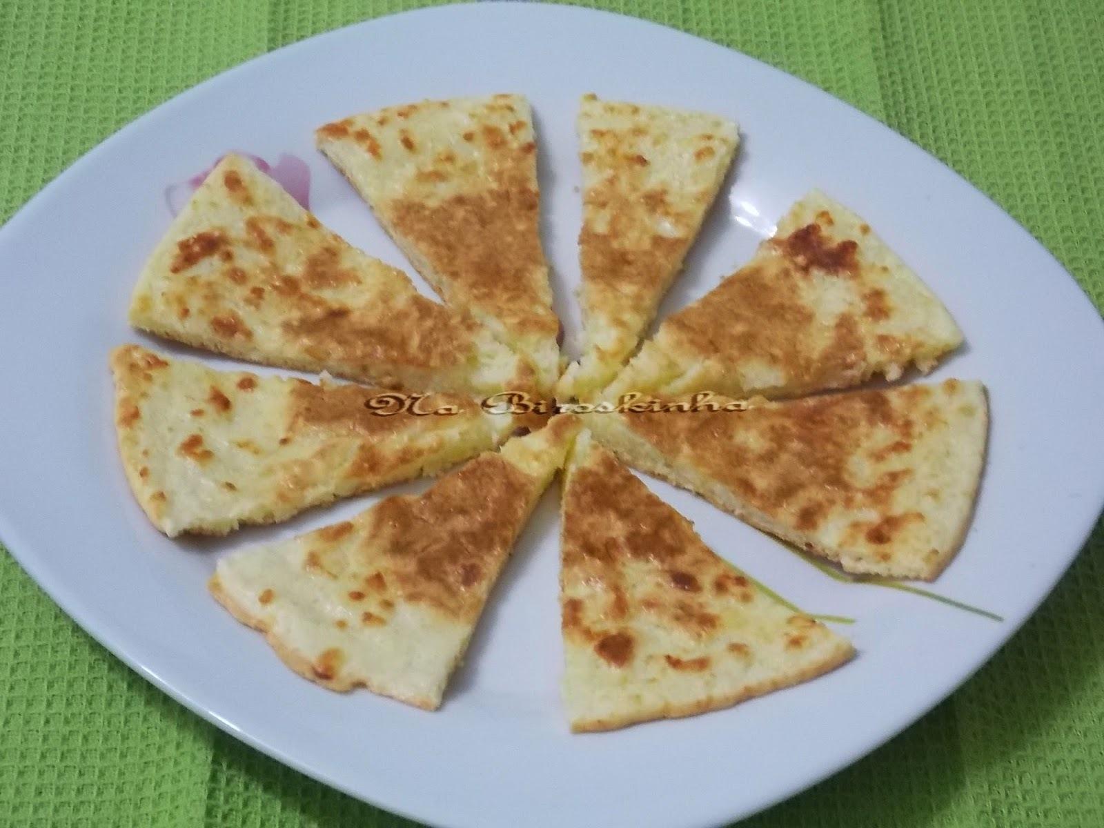 Pão de Queijo Sem Glúten e Sem Lactose na Frigideira