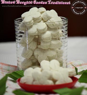 Biskut Bangkit Santan Tradisional