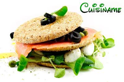 Sandwich de Salmón   Receta Fácil y Sana