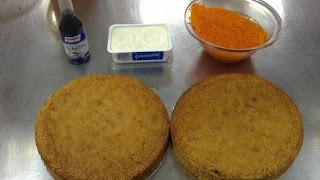 Tarta de zanahoria ( parte III )