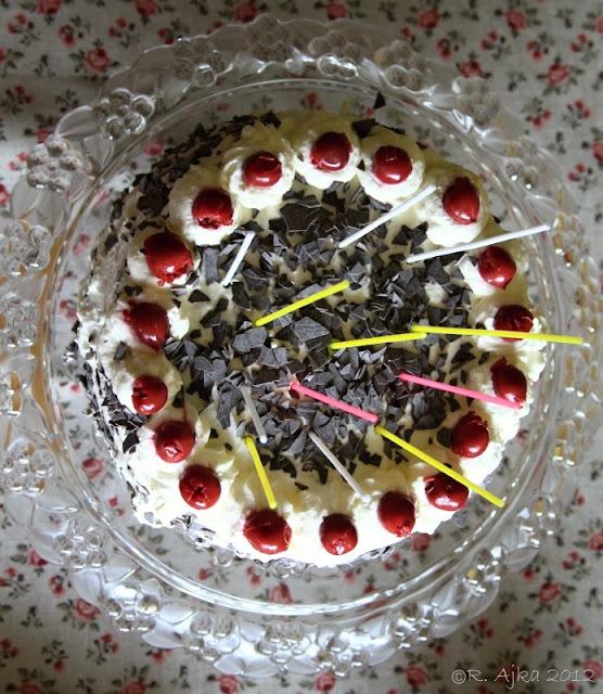 Kakaovo - višňová torta