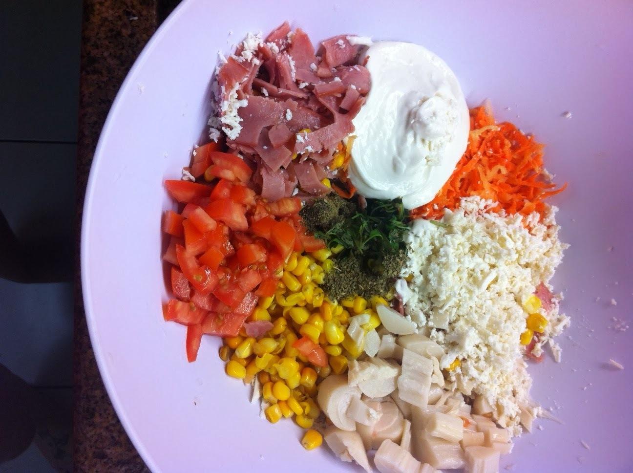 Rolinhos de ricota colorida (massa para celíacos e intolerantes a lactose)