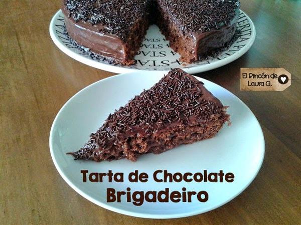 Receta de Tarta de Chocolate Brigadeiro